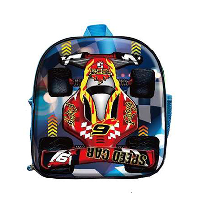 LANCHEIRA INFANTIL MASCULINA 3D SPEED CAR 10''