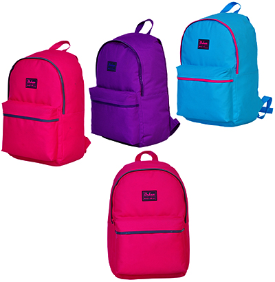 MOCHILA JUVENIL FEMININA URBAN LISA 17'' COLORS