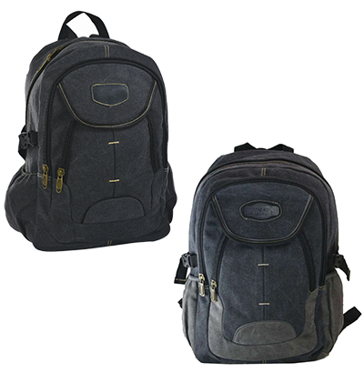 MOCHILA JUVENIL MASCULINA CANVAS URBAN 18'' COLORS