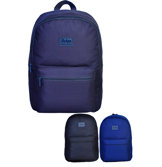 MOCHILA JUVENIL MASCULINA URBAN LISA 17'' COLORS