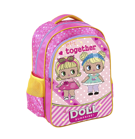 MOCHILA INFANTIL FEMININA TOGETHER DOLL 13