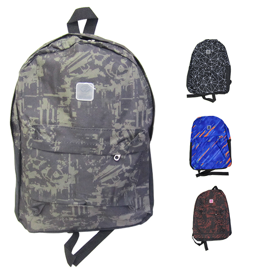 MOCHILA JUVENIL MASCULINA BASIC WINTH 17'' COLORS