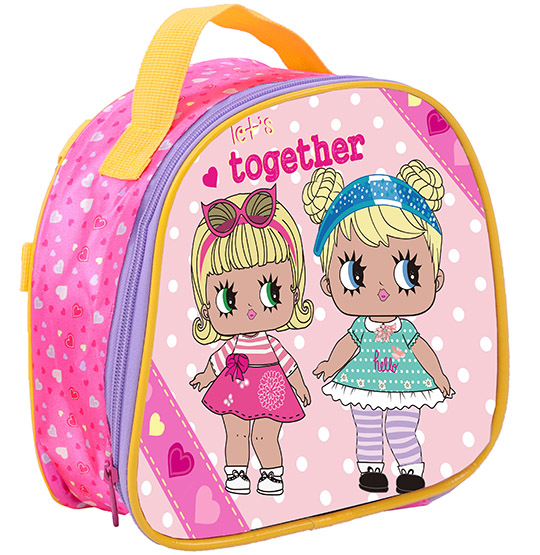 LANCHEIRA INFANTIL FEMININA TOGETHER DOLL 10''