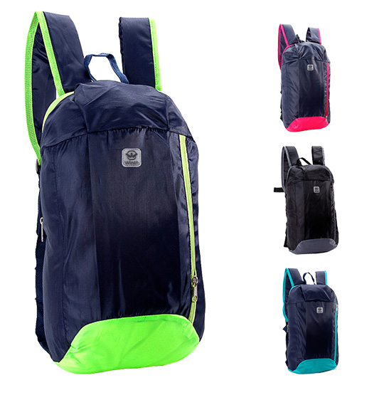MOCHILA JUVENIL MASCULINA BASIC WINTH LISA 15,5'' COLORS