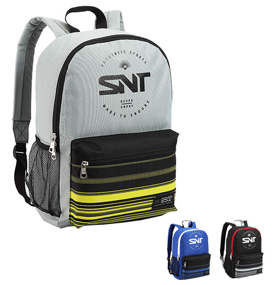MOCHILA JUVENIL MASCULINA SNT AUTHENTIC SPORTS 16'' COLORS