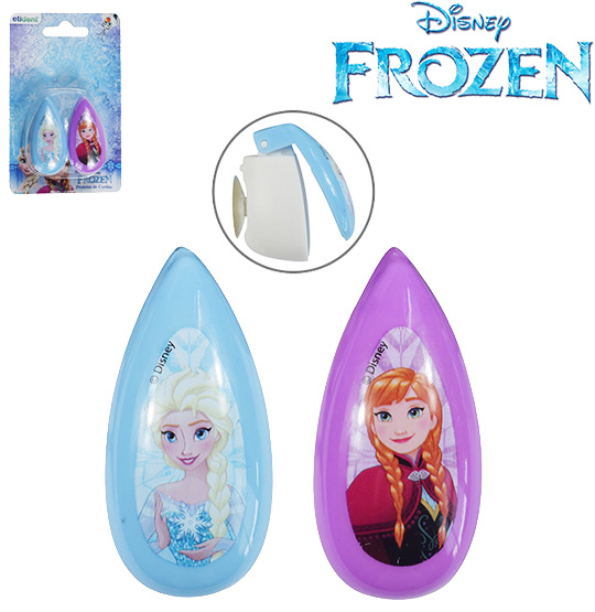 PROTETOR DE CERDA PARA ESCOVA DENTAL COM VENTOSA COLORS FROZEN KIT COM 2 PECAS NA CARTELA