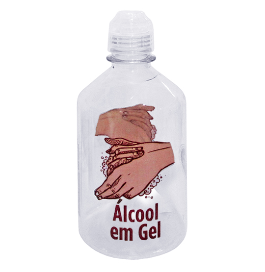 RECIPIENTE PARA ALCOOL GEL APTAR DECORADO 450ML