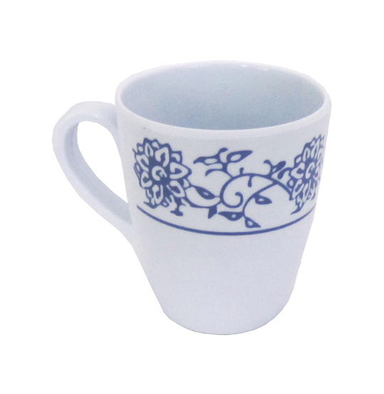 CANECA DE MELAMINA RETRO BLUE 370ML